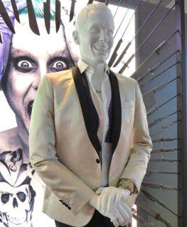 Jared Leto Joker Ivory Tuxedo With Free T-Shirt