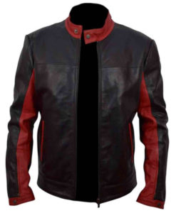 Batman The Dark Knight Bruce Wayne Leather Jacket