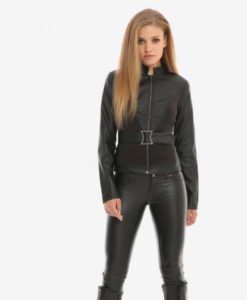 Avengers Endgame Black Widow Jacket