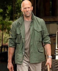Deckard Shaw Hobbs and Shaw Cotton Jacket front