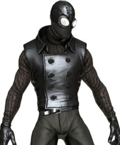 Spiderman Noir Costume Black Vest front