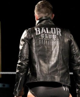 WWE Finn Balor Leather Jacket back