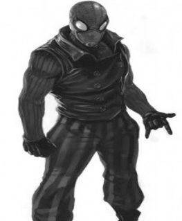 Spiderman Noir Costume Black Vest