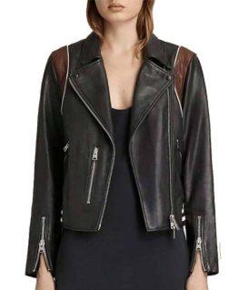 Stumptown Dex Black Leather Jacket