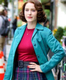 The Marvelous Miriam Blue Jacket