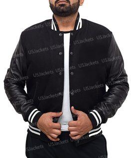 Billionaire Boys Letterman Bomber Jacket
