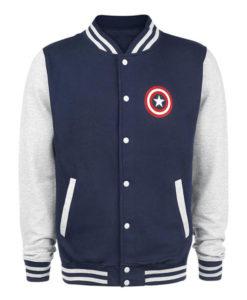 Captain America Letterman Jacket