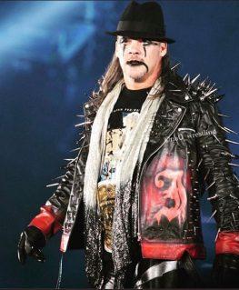 Chris Jericho AEW Jacket With Spikes
