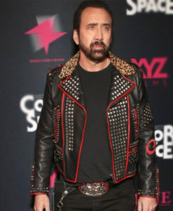 Color Out Of Space Premier Nicolas Cage Jacket