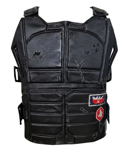 Cyberpunk 2077 Johnny Silverhand Vest Crafted with the best Leather to suite your looks whether you bike or just casually wear it out, the USjackets Mens Leather Vest will bold your looks to personalize your appearance