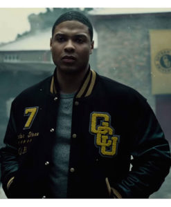 Justice League Ray Fisher Varsity Jacket