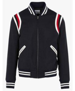 Godzilla Eminem Varsity Cotton Jacket