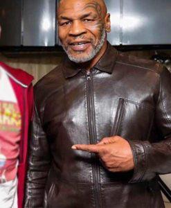 Godzilla Mike Tyson Leather Jacket