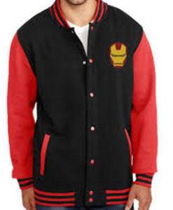 Iron Man Letterman Jacket
