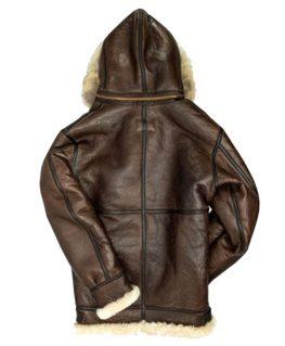 Men's B3 Hooded Shearling Coat