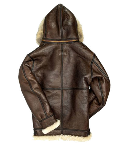 Men's B3 Hooded Shearling Coat
