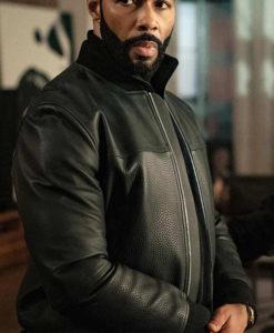 Power James St. Patrick Leather Jacket