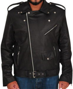 Wrestler Cody Rhodes US Flag Leather Jacket