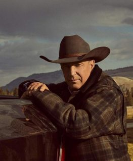Yellowstone John Dutton Plaid Jacket