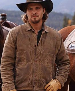 Yellowstone Kayce Dutton Brown Jacket