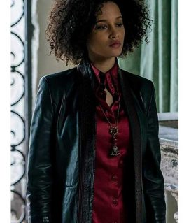A Discovery of Witches Juliette Durand Leather Coat
