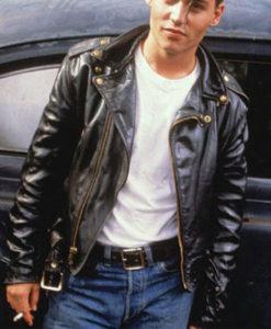 Cry Baby Leather Jacket