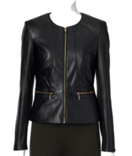 Dana Buchman Leather Jacket