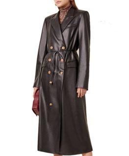 Dynasty Fallon Carrington Leather Coat