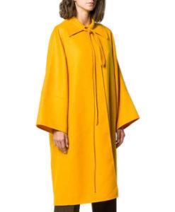 Killing Eve Villanelle Yellow Long Coat