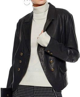 Riverdale Alice Cooper Leather Blazer