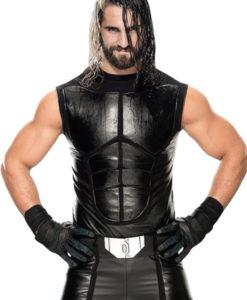 Seth Rollins Leather Vest
