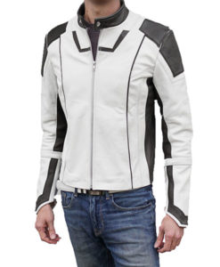 SpaceX Dragon Space Suit Inspired Leather Jacket