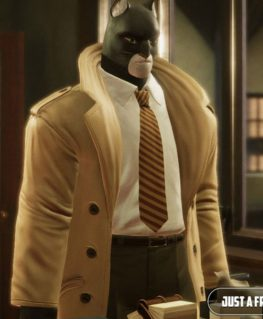 Blacksad Under The Skin John Blacksad Coat
