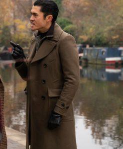 The Gentlemen Dry Eye Wool Coat