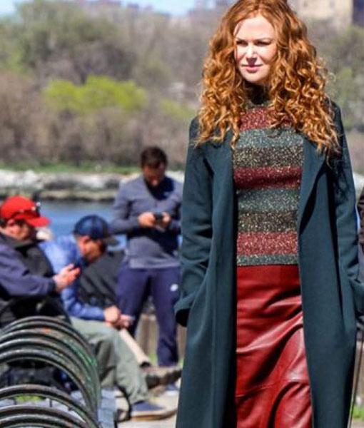 The Undoing Grace Sachs Coat | Nicole Kidman Black Trench Coat