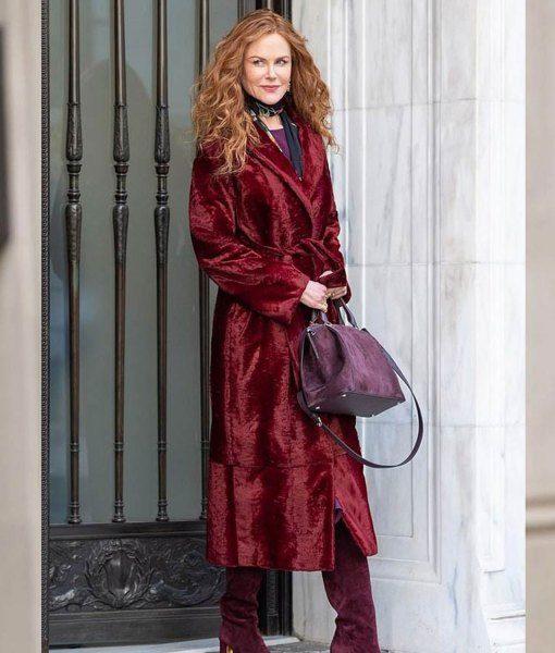 The Undoing Grace Sachs Velvet Coat