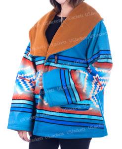 Beth Dutton Classic Semi-Cloak Coat