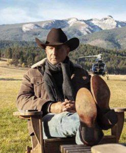 Yellowstone John Dutton Brown Jacket