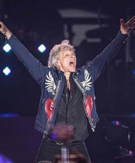 Jon Bon Jovi Blue Jacket