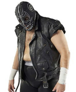AEW Evil Uno Leather Vest
