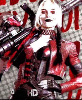 Live Fast Die Clown Harley Quinn Jacket