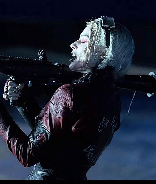 Harley Quinn Leather Jacket