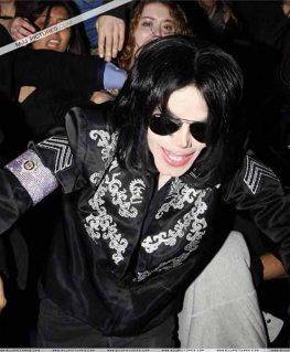Michael Jackson This is It Conference Black Jacket