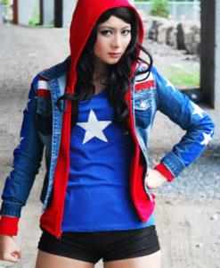 Miss America Chavez Blue Jacket