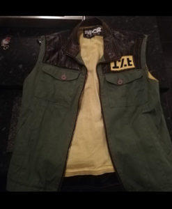 My Chemical Romance Frank Lero Green Vest