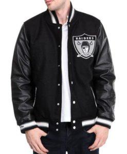 Raiders Black Jacket