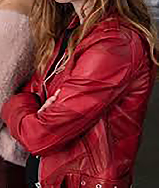 Skam France Manon Leather Jacket