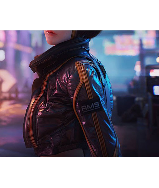 Cyberpunk Syn Leather Jacket