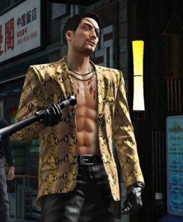Yakuza Like A Dragon Goro Majima Brown Jacket