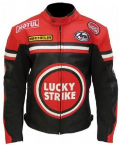 Lucky Strike Red and Black Jacket